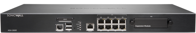 Sonicwall NSA 2600_Front
